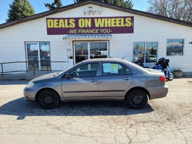 2005 GRAY Toyota Corolla CE (1NXBR32E45Z) , located at 1821 N Montana Ave, Helena, MT, 59601, (406) 543-1986, 46.603153, -112.020531 - Photo #0