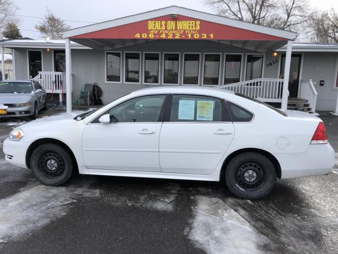 2011 Chevrolet Impala Police Cruiser (2G1WD5EMXB1) with an 3.9L V6 OHV 16V FFV engine, 4-Speed Automatic Overdrive transmission, located at 1821 N Montana Ave, Helena, MT, 59601, (406) 543-1986, 46.603153, -112.020531 - Photo #0