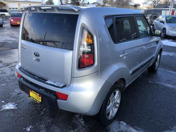 2011 Kia Soul + (KNDJT2A24B7) with an 2.0L L4 DOHC 16V engine, located at 1821 N Montana Ave, Helena, MT, 59601, (406) 543-1986, 46.603153, -112.020531 - Photo #1