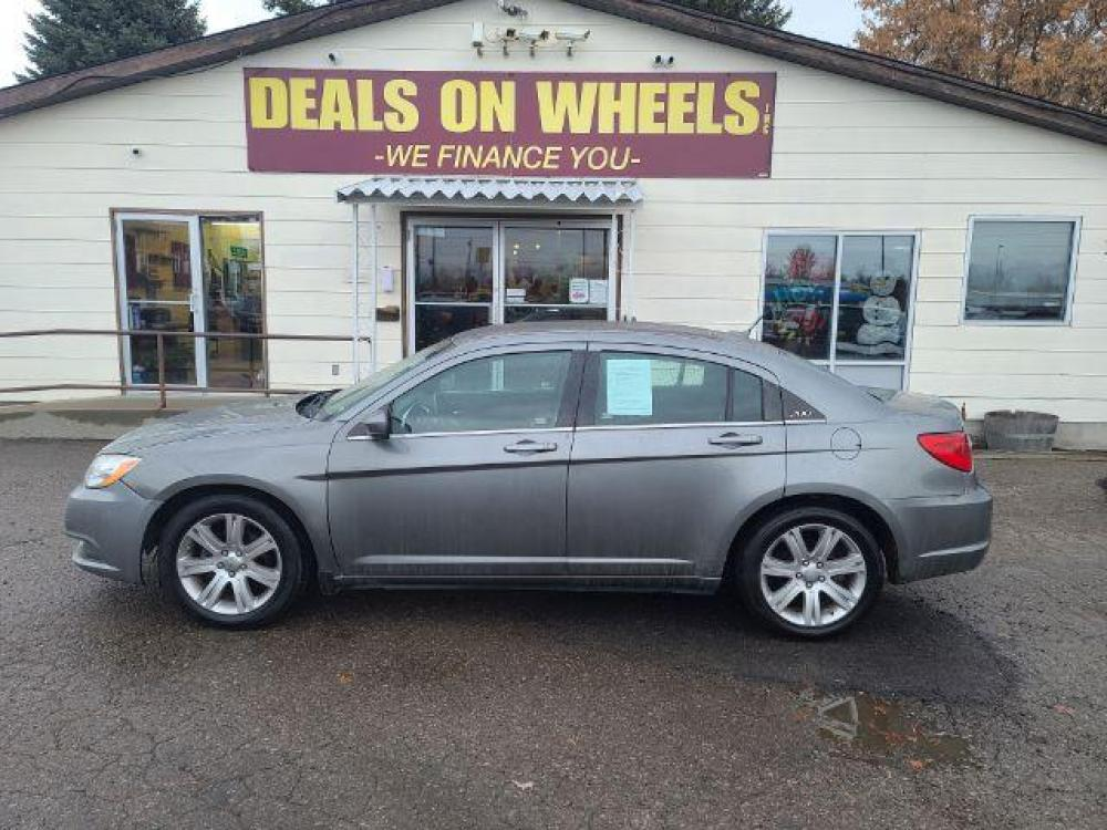 2013 Chrysler 200 Touring (1C3CCBBB9DN) with an 2.4L L4 DOHC 16V engine, 6-Speed Automatic transmission, located at 1821 N Montana Ave, Helena, MT, 59601, (406) 543-1986, 46.603153, -112.020531 - Photo #0