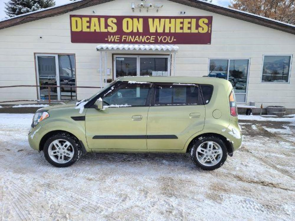 2010 Alien Metallic Kia Soul + (KNDJT2A27A7) with an 2.0L L4 DOHC 16V engine, located at 1821 N Montana Ave, Helena, MT, 59601, (406) 543-1986, 46.603153, -112.020531 - Photo #0