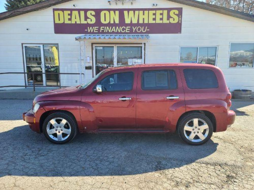 2008 RED CHEVROLET HHR LT2 (3GNDA53P78S) , located at 1821 N Montana Ave, Helena, MT, 59601, (406) 543-1986, 46.603153, -112.020531 - Photo #0