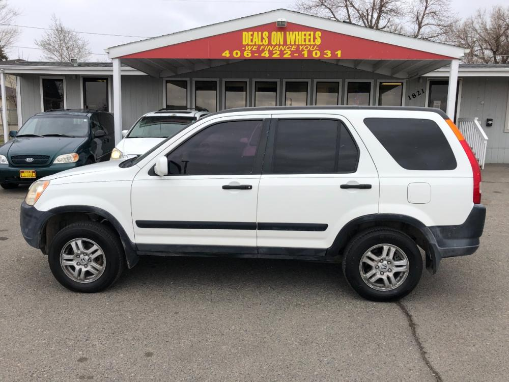 2003 Honda CR-V EX 4WD 4-spd AT (JHLRD78843C) with an 2.4L L4 DOHC 16V engine, 4-Speed Automatic transmission, located at 1821 N Montana Ave, Helena, MT, 59601, (406) 543-1986, 46.603153, -112.020531 - Photo #0