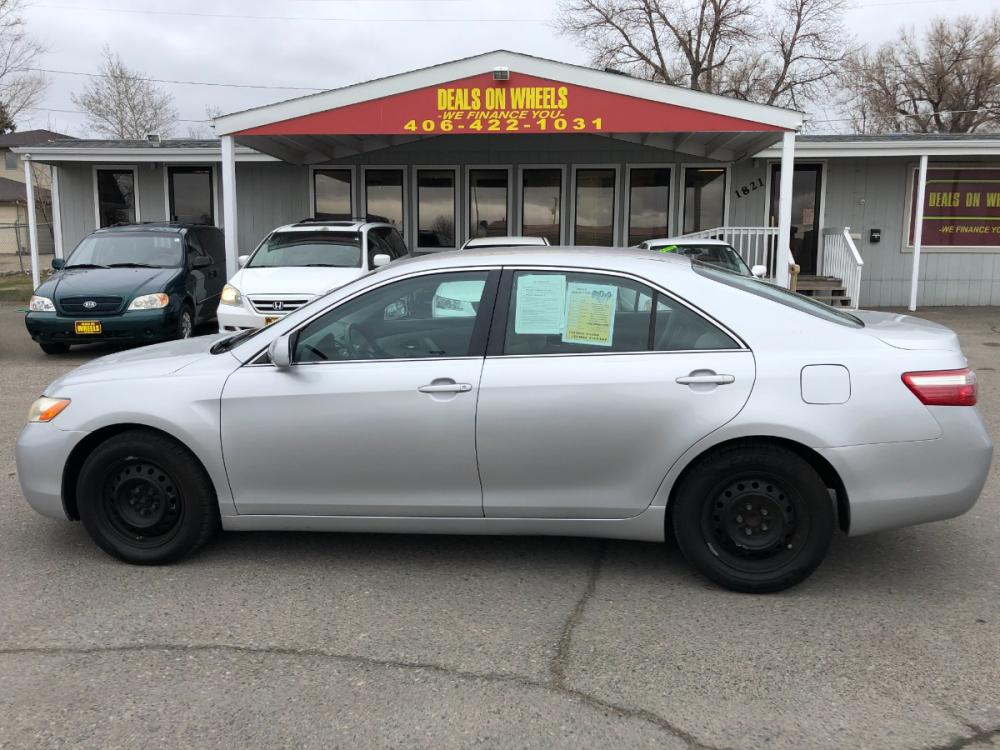 2008 Toyota Camry LE 5-Spd AT (4T1BE46K88U) with an 2.4L L4 DOHC 16V engine, 5-Speed Automatic transmission, located at 1821 N Montana Ave, Helena, MT, 59601, (406) 543-1986, 46.603153, -112.020531 - Photo #0